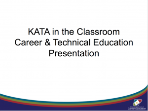 Career Ed Presentation